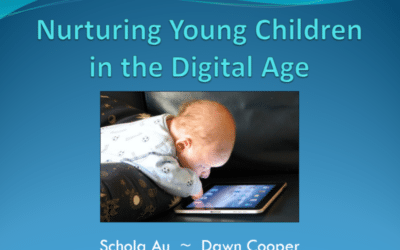 Thank You for Joining Us @ Nurturing Young Children in the Digital Age