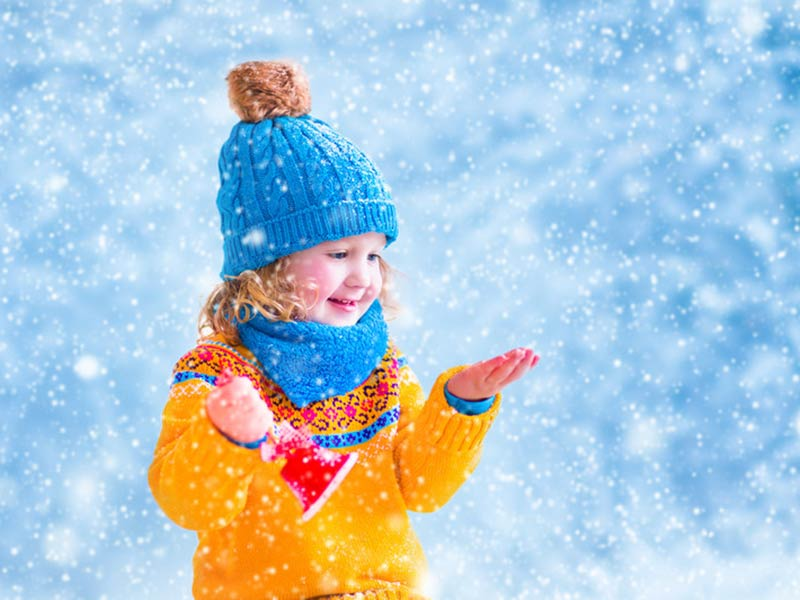 Photo 5 – Little Girl Enjoying Snow