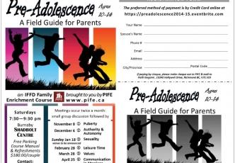 20141108-Pre-adolescence-IFFD-Course